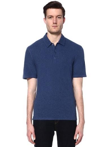 Vince Polo Yaka Tişört Mavi